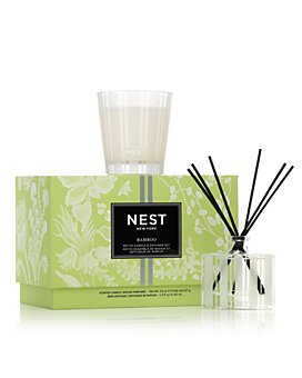 NEST Fragrances - Bamboo Petite Candle & Diffuser Set