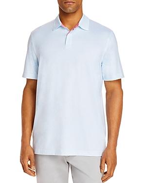 Vineyard Vines Printed Sankaty Slim Fit Polo Shirt-Men