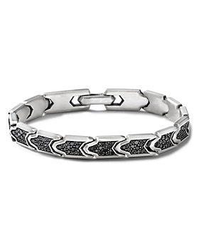 David Yurman - Link Bracelet with Pavé Black Diamonds