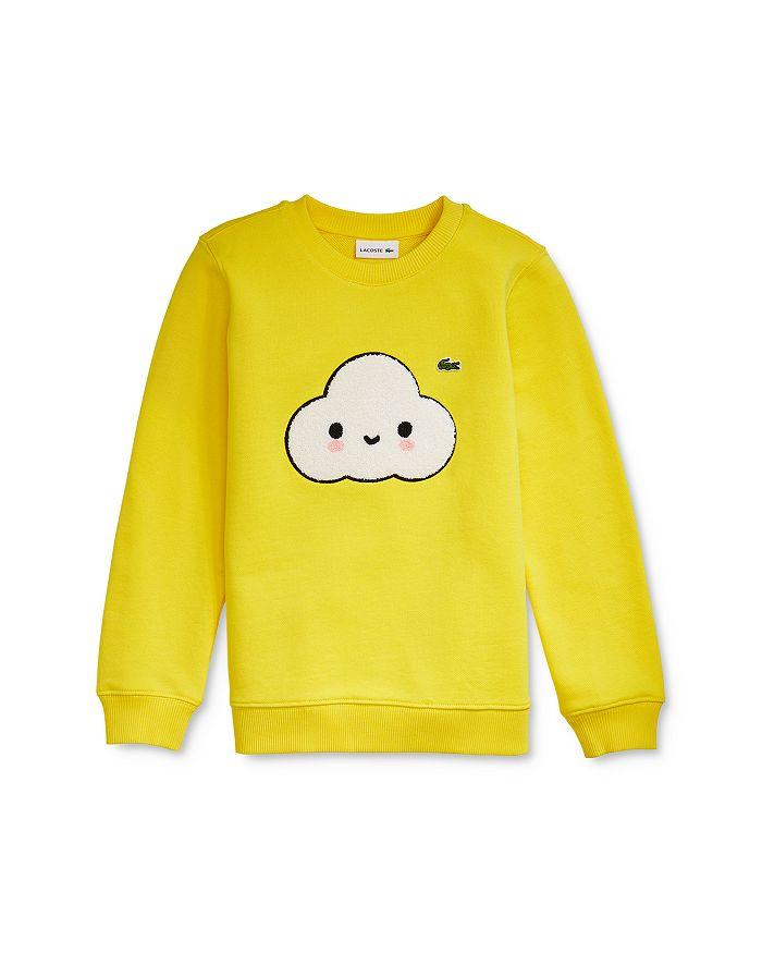 Lacoste - Boys' Croc Logo Sweatshirt - Little Kid, Big Kid
