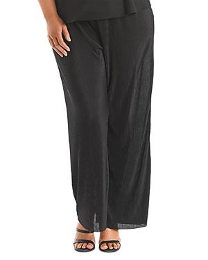 Accordion-Pleated Pants