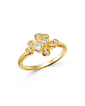 Bloomingdale's - Diamond Small Scatter Statement Ring in 14K Yellow Gold, 0.30 ct. t.w. - 100% Exclusive