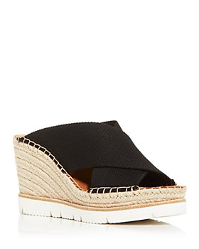 Gentle Souls by Kenneth Cole - Women's Elyssa Crisscross Espadrille Wedge Sandals