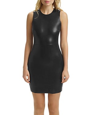 Commando Faux-Leather Stretch Dress-Women
