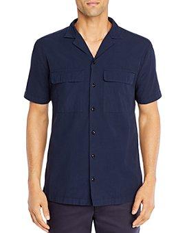 HUGO - Esad Cotton Camp Shirt