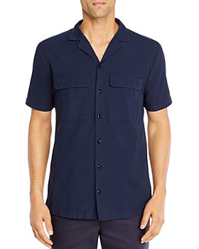 HUGO - Esad Cotton Camp Shirt