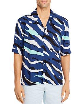 BOSS - Lello Tiger-Print Shirt