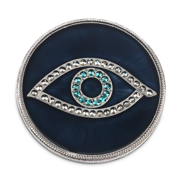 Olivia Riegel - Evil Eye Coasters, Set of 4