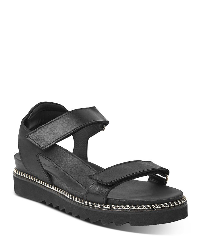 Whistles Women's Noah Sporty Platform Sandals In Black