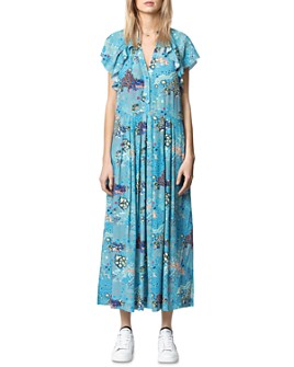 Zadig & Voltaire - Ruskie Glam Rock Long Dress