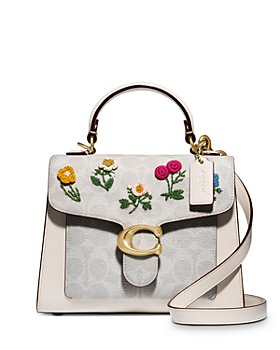 COACH - Tabby Floral Embroidery Top Handle Bag