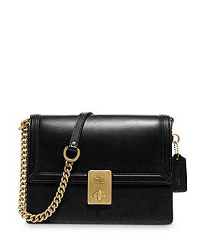 COACH - Hutton Mini Leather Shoulder Bag