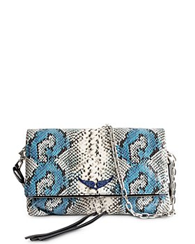 Zadig & Voltaire - Rocky Painted Wild Leather Handbag