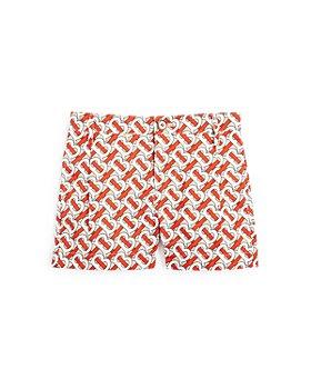 Burberry - Boys' Desmond Monogram Poplin Shorts - Little Kid, Big Kid