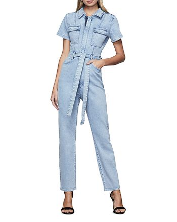Good American - Fit For Success Belted Jumpsuit