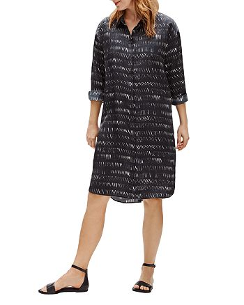 Eileen Fisher - Classic Collar Shirt Dress