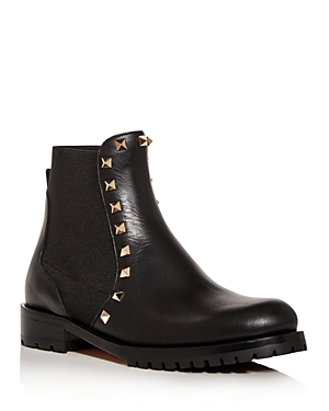 Valentino Garavani Women's Beatle Rockstud Chelsea Boots