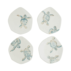 Vietri Tartaruga Assorted Salad Plates, Set of 4-Home