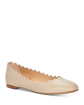 Chloé - Women's Lauren Scalloped Ballet Flats