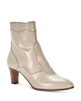 Chloé - Women's Patchwork Western Booties