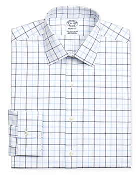 Brooks Brothers - Grid Windowpane Regular Fit Dress Shirt