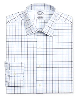 Brooks Brothers - Grid Windowpane Regular Fit Dress Shirt