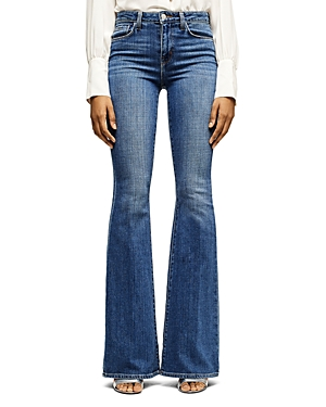 L\\\'Agence High-Rise Flare-Leg Jeans-Women