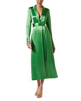 Galvan - Callisto Wrap Coat Dress
