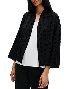 Eileen Fisher - Organic Cotton Textured Kimono Jacket