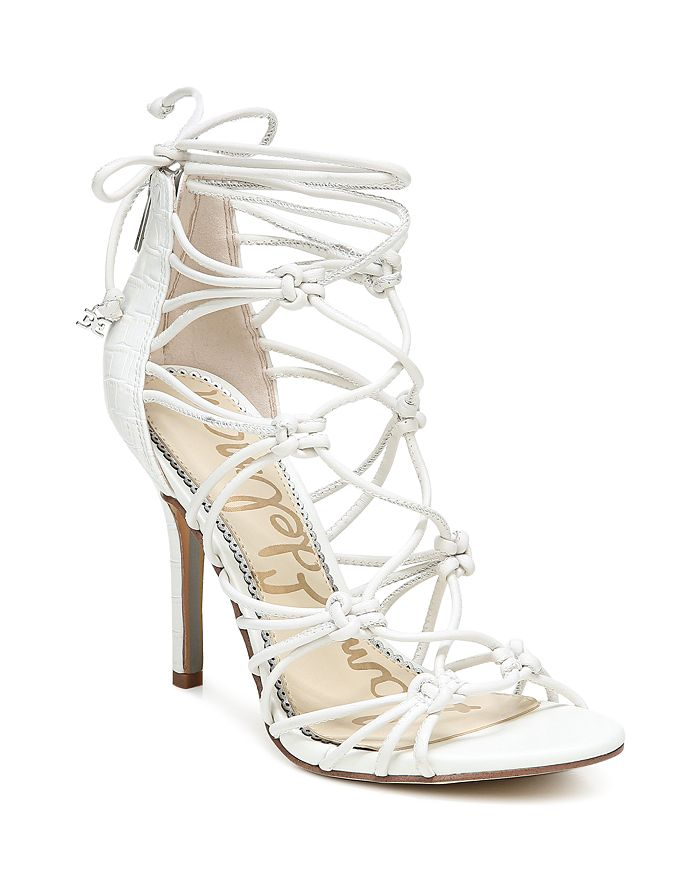 Sam Edelman - Women's Adella Knotted Strappy High Heel Sandals