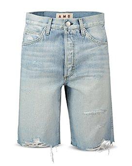 AMO - Ripped Denim Shorts