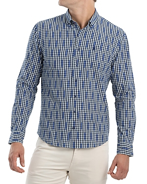 Johnnie-o Semmes Cotton Check Classic Fit Button-Down Shirt-Men