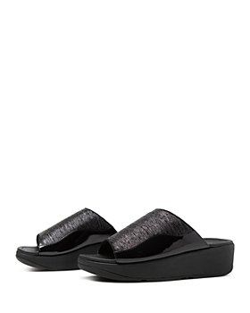 FitFlop - Women's Myla Metallic Slide Sandals