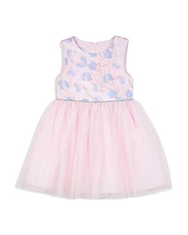 Pippa & Julie - Girls' 3D Flower Tutu Dress - Little Kid