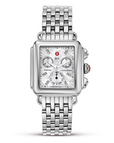 MICHELE - Deco Day Diamond Watch Head, 33 x 46mm
