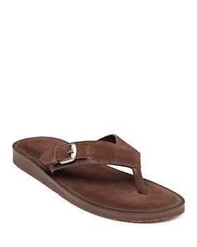 John Varvatos Collection - Men's Havana Buckle Thong Sandals