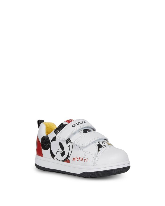 Geox Boys' Mickey Mouse New Flick Sneakers - Walker, Toddler    Bloomingdale's