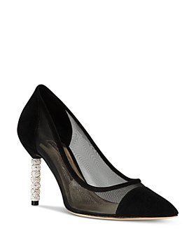 Sophia Webster - Women's Jasmine Crystal Pointed Toe Pumps