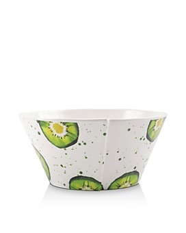 VIETRI - Melamine Fruit Kiwi Stacking Serving Bowl