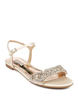 Badgley Mischka - Women's Carmella Crystal-Embellished Sandals