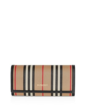 Burberry - Icon Stripe E-Canvas Continental Wallet
