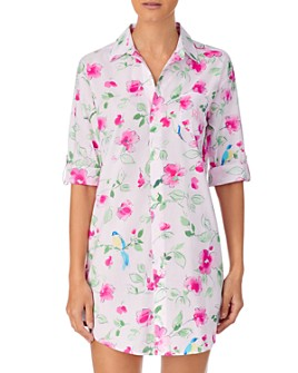 Ralph Lauren - Floral Print Woven Sleepshirt