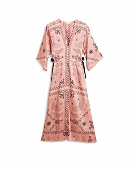 Sandro - Galy Paisley Print Dress