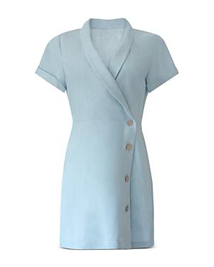 Bcbgeneration Chambray Button Dress
