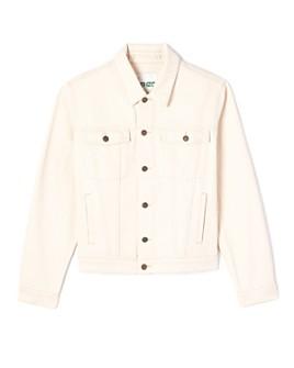 Kenzo - Men's Embroidered Slim Fit Denim Jacket