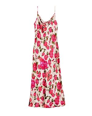 L\\\'Agence Nyla Printed Slip Dress-Women