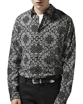 The Kooples - Bandana Paisley Regular Fit Shirt