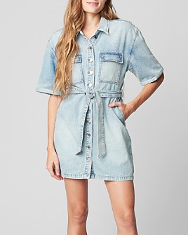 BLANKNYC - Belted Denim Dress