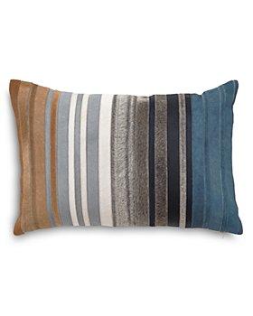 """Mitchell Gold Bob Williams - Multi Hide Stripe Decorative Pillow, 20"""" x 14"""""""