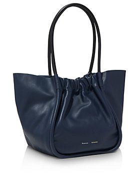 Proenza Schouler - Large Ruched Leather Tote